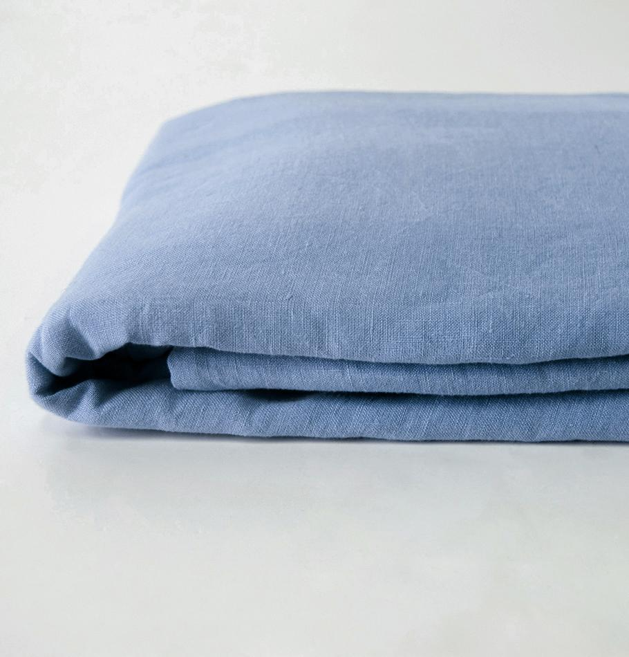 100% Washed Linen Duvet Cover