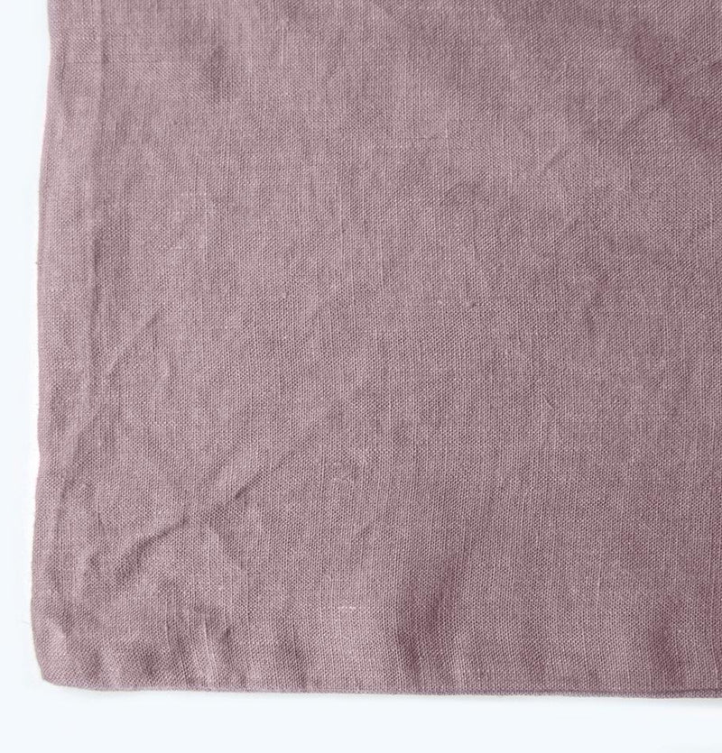 100% Softened Linen Duvet Cover 'ON THE MEADOW...', #1555 lilac