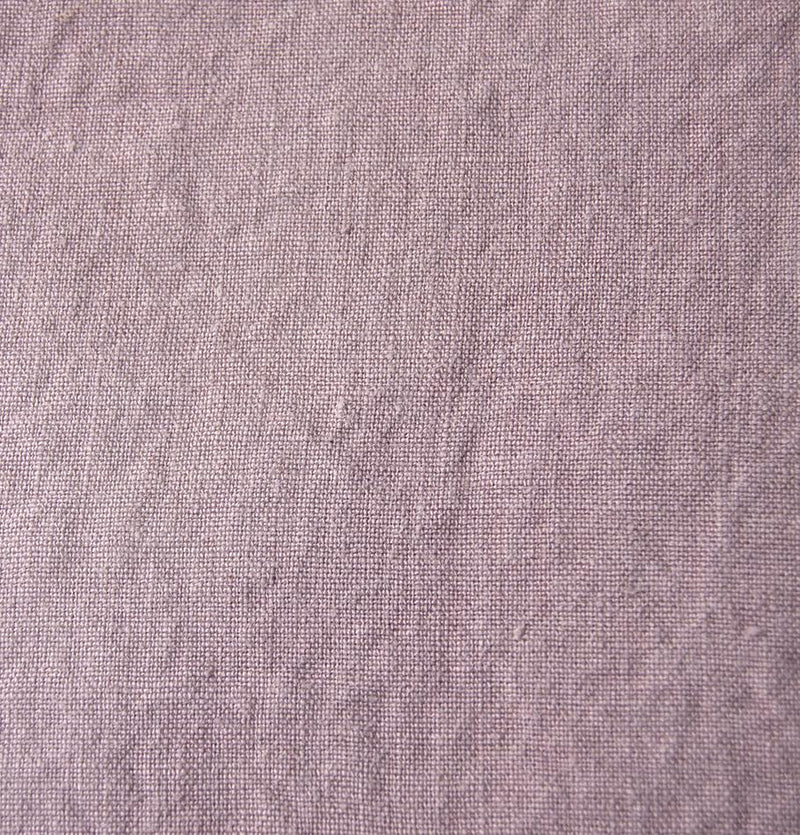 100% Softened Linen Duvet Cover 'ON THE MEADOW...', #1555 dusty rose - Treasure Box