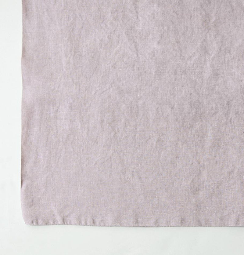100% Softened Linen Duvet Cover 'ON THE MEADOW...', #320 pink