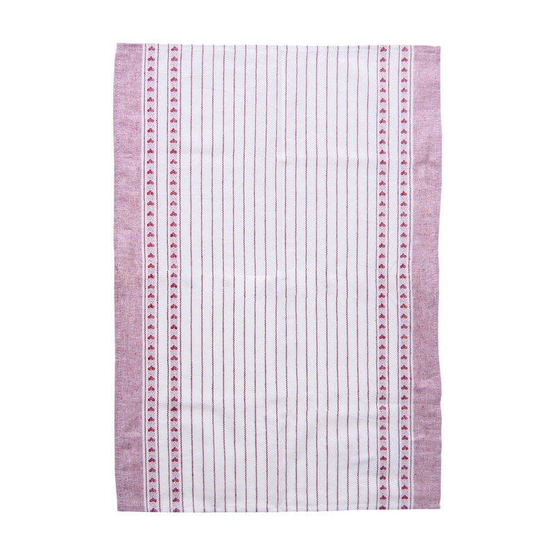 "Linen + Cotton Jacquard Tea Towels double-sided ""TEA-PARTY"", 3 pc"