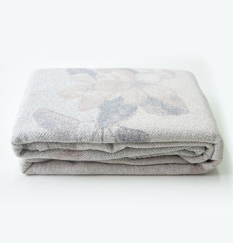100% Softened Linen Blanket, 215 cm x 250 cm, collection 'WRAP ME UP, BABY'
