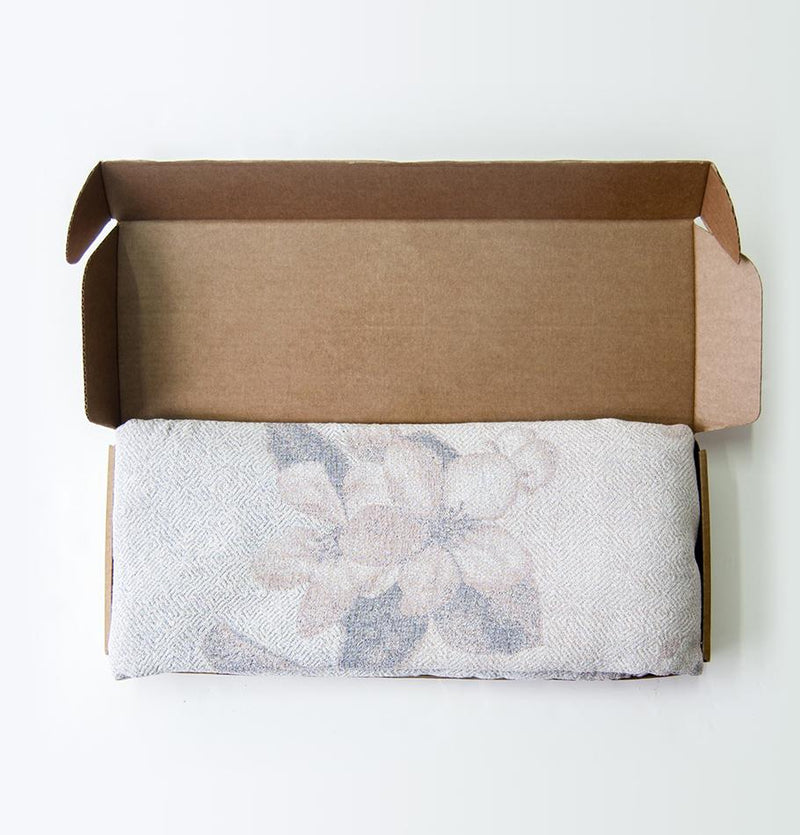 Softened Linen + Cotton Blanket, 215 cm x 250 cm, collection 'WRAP ME UP, BABY' - Treasure Box