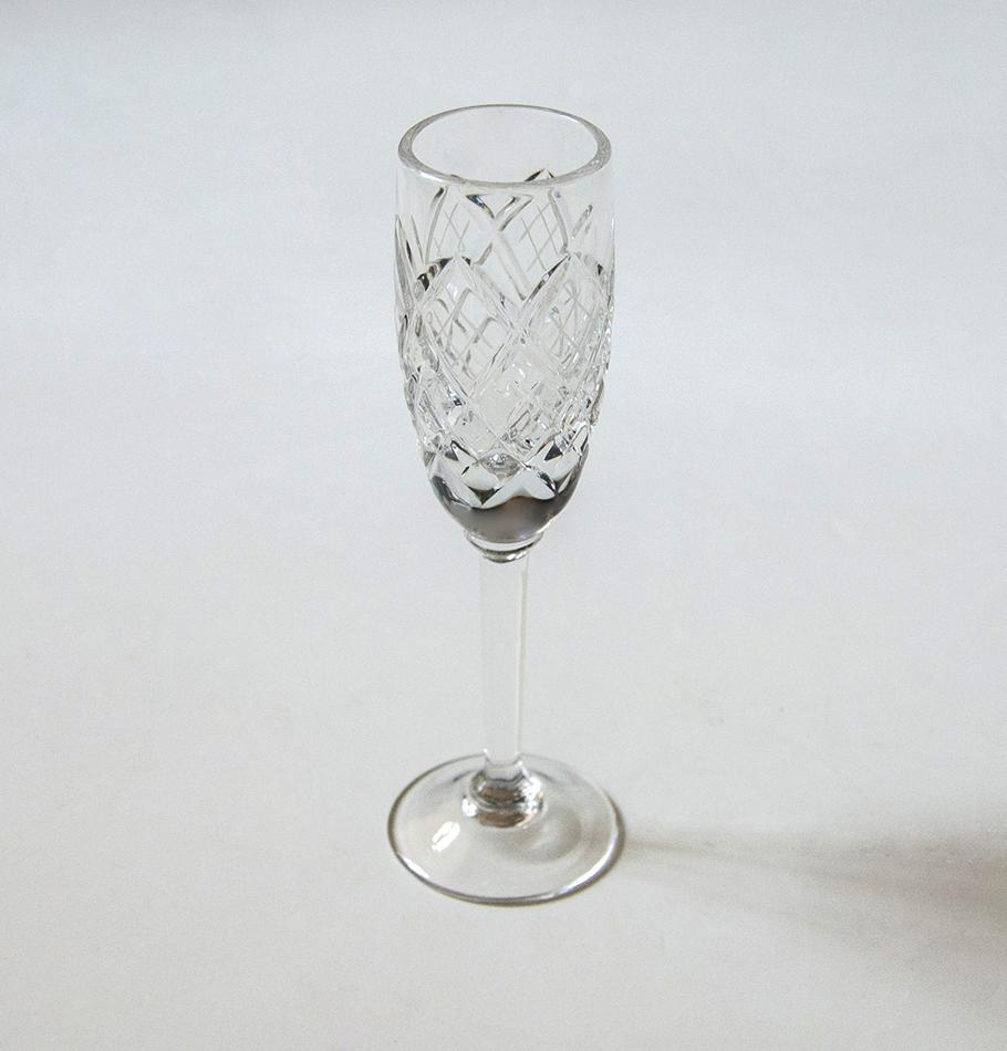 Crystal liquor glasses, 30 ml, 6 pc 'SUNNY BUNNY'