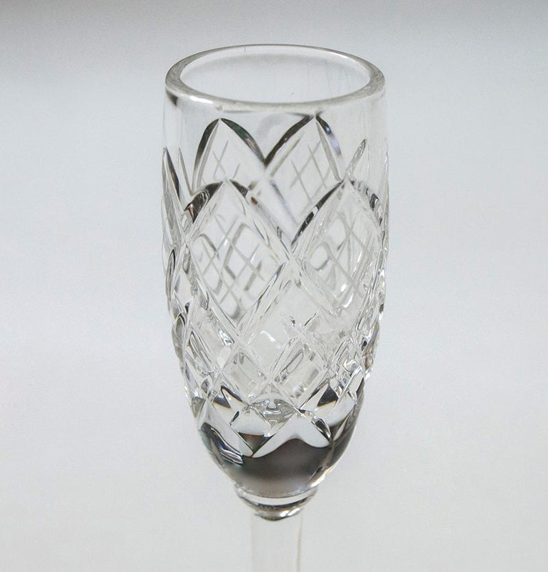 Crystal liquor glasses, 30 ml, 6 pc 'SUNNY BUNNY' - Treasure Box
