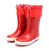 Aigle Giboulee, Natural Rubber Boots fur-lined, Wellington Children's Footwear
