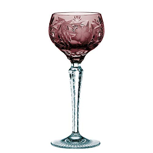 Spiegelau & Nachtmann Wine Glass with Cut Decoration, Crystal Glass, 230 ml