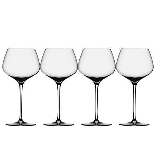 Spiegelau Willsberger Anniversary Glasses, Burgundy, Set of 4