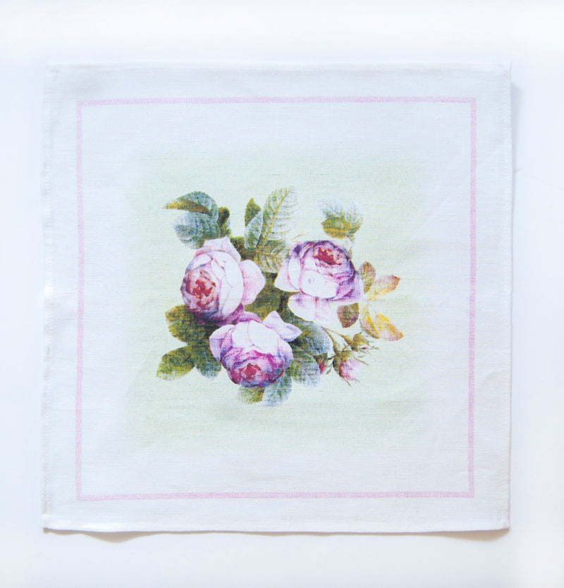 100% Linen Napkins, 45 x 45 cm, 4 pc - Treasure Box