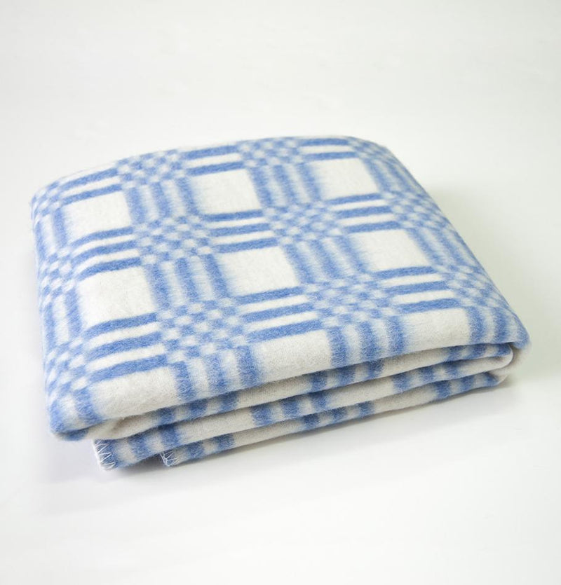 Flannelette Blanket, 90% Cotton, double-sided, 90 x 112 cm 'LOVE YOU TO THE MOON' - Treasure Box