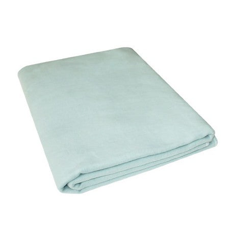 100% Cotton Flannelette Blanket, double-sided, 'ONE COLOR' - Treasure Box