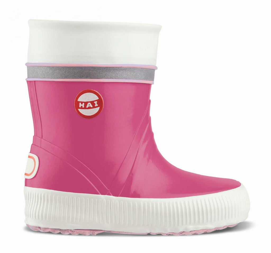 Nokian Footwear Mädchen Natural rubber boot, Kids Wellies, pink