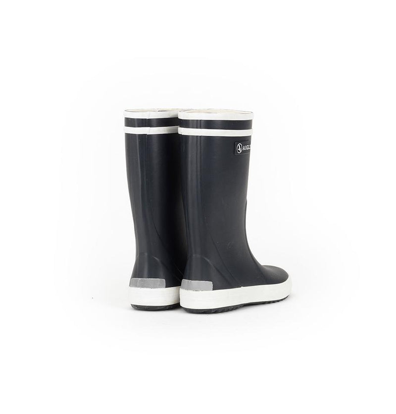 Aigle Natural Rubber fur-lined Wellies 'Lolly Pop' - Treasure Box