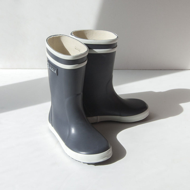 Aigle Natural Rubber Wellies 'Lolly Pop' - Treasure Box