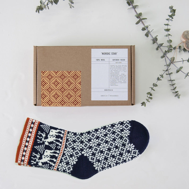 Woolen Socks 'NORDIC STAR'