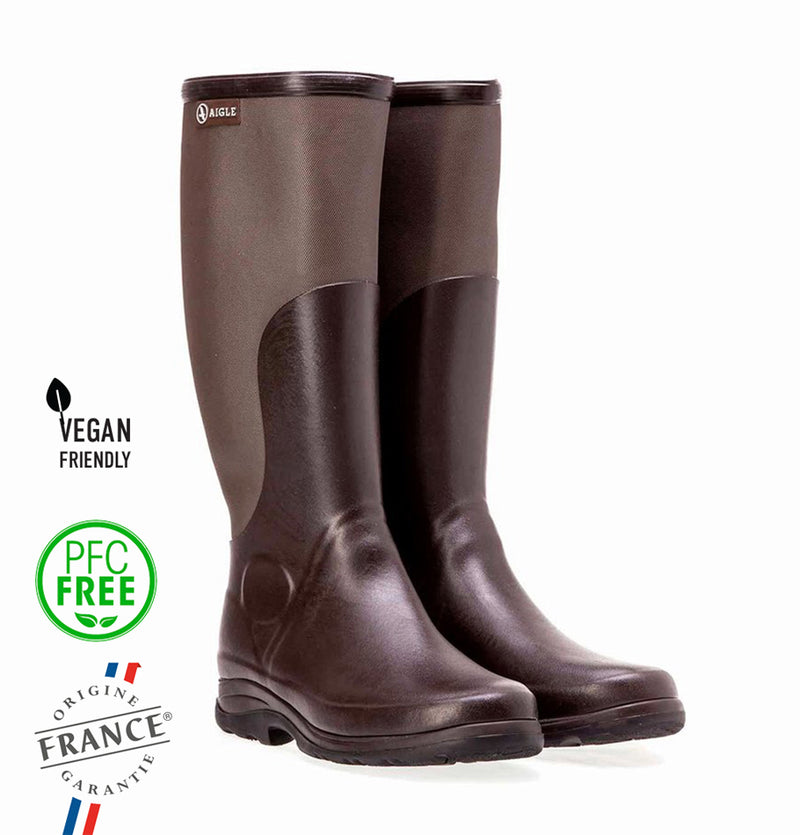 Aigle Rboot, Natural Rubber Boots, Wellington Unisex Adults Footwear