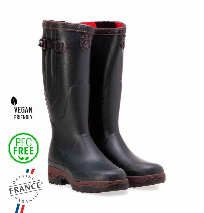 Aigle PARCOURS 2 ISO, Natural Rubber Boots, Wellington Unisex Adults Footwear, bronze