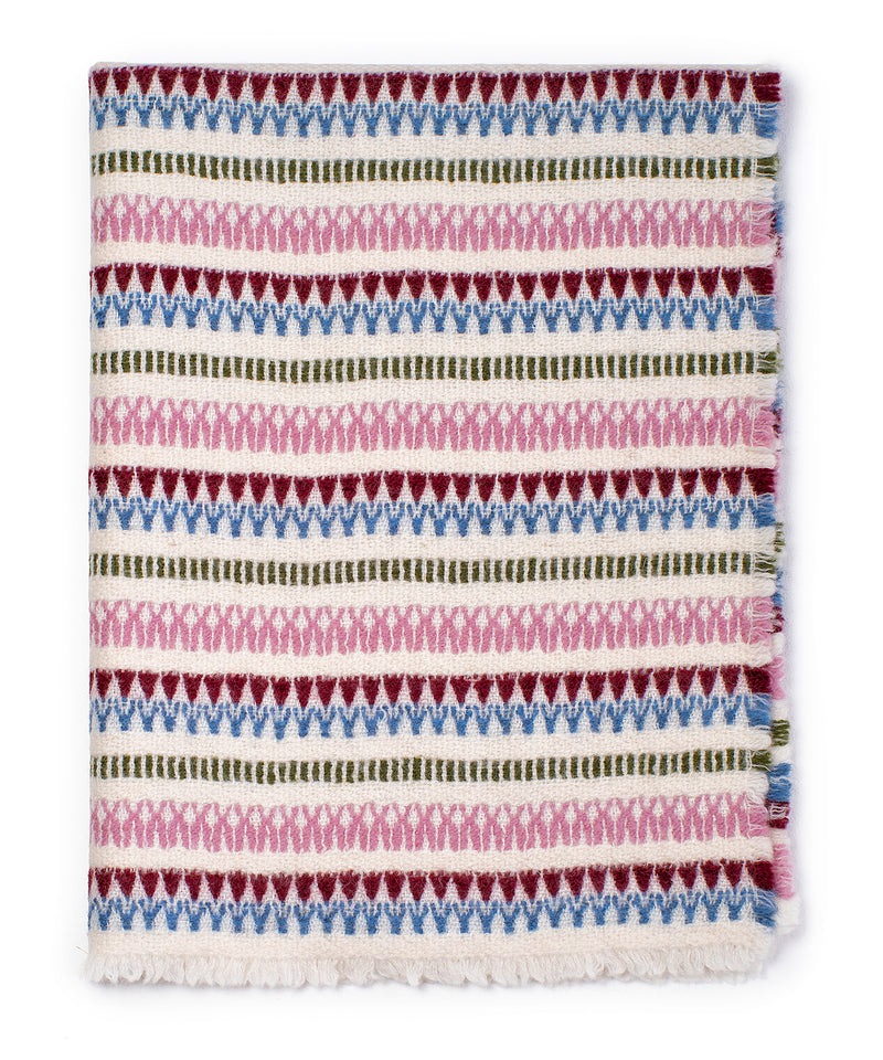 100% Woolen Baby Blanket 'NATURE', 68 х 92 cm, by Kelpman Textile, Estonia