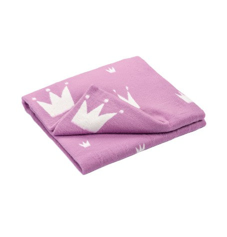 100% Cotton Flannelette Blanket, double-sided, 'PRINCESS LOVE'