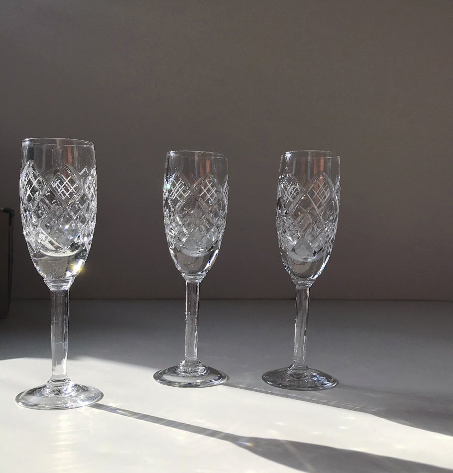 Crystal liquor glasses, 30 ml, 3 pc 'SUNNY BUNNY'