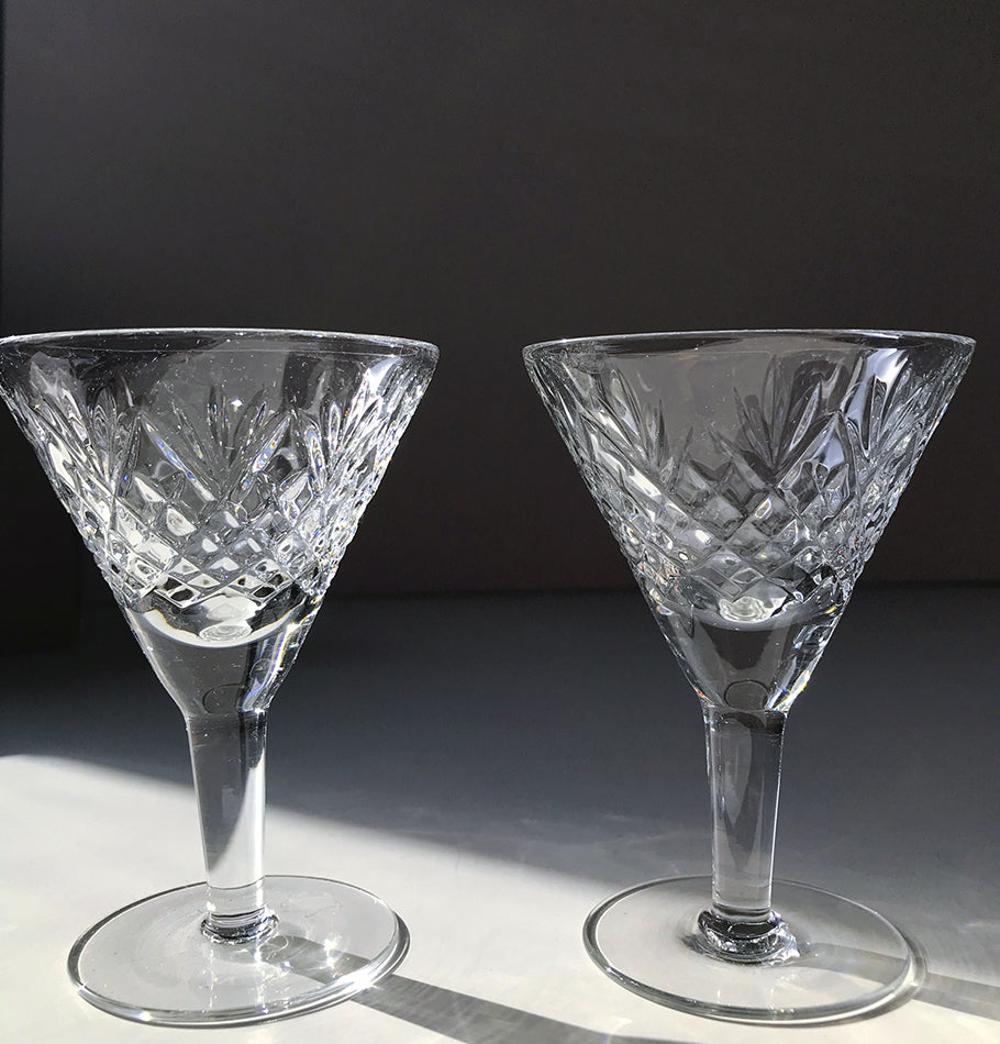 Crystal sherry glass, 40 ml, 2 pc, 'SUNNY BUNNY'