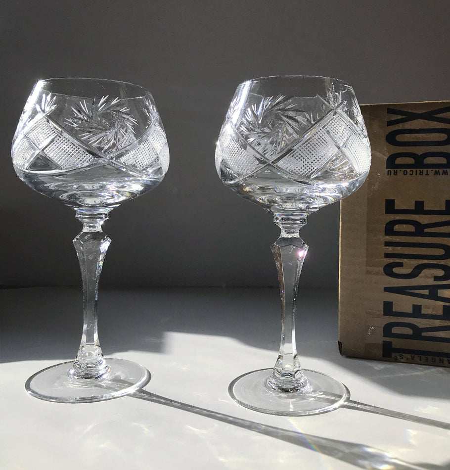 Crystal glasses, 250 ml, 2 pc 'SUNNY BUNNY'