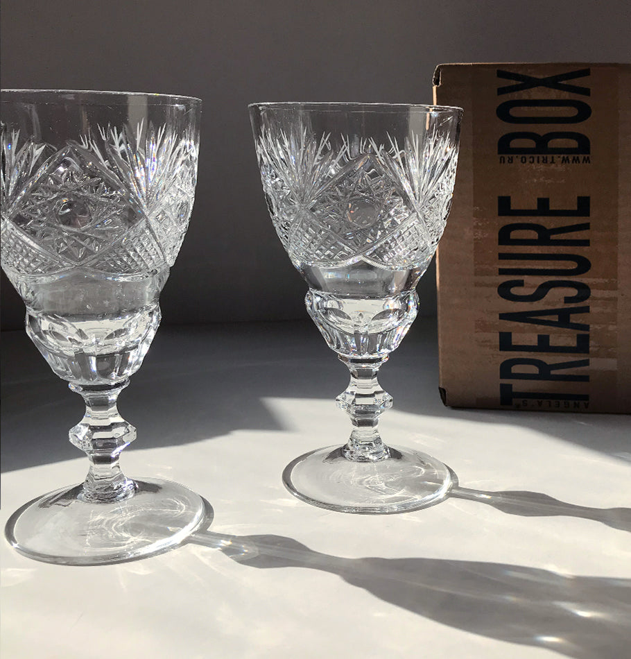 Crystal glasses, 2 pc 'SUNNY BUNNY'
