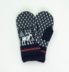 100% Wool Mittens 'DEER' - Treasure Box