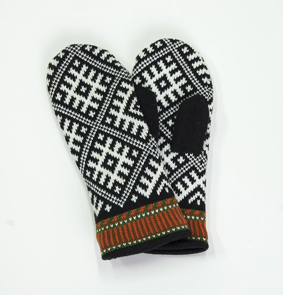 100% Wool Mittens  'TILDA' - Treasure Box