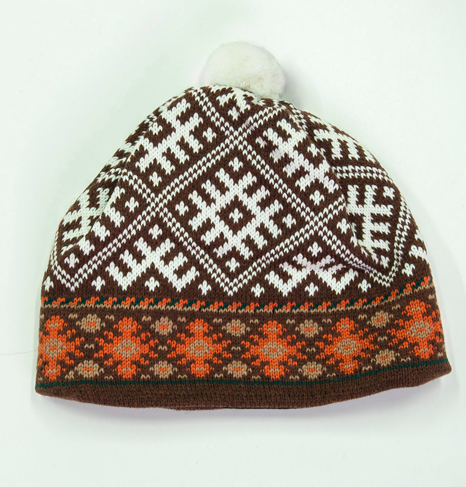 100% Wool Pompon Hat 'TILDA' - Treasure Box