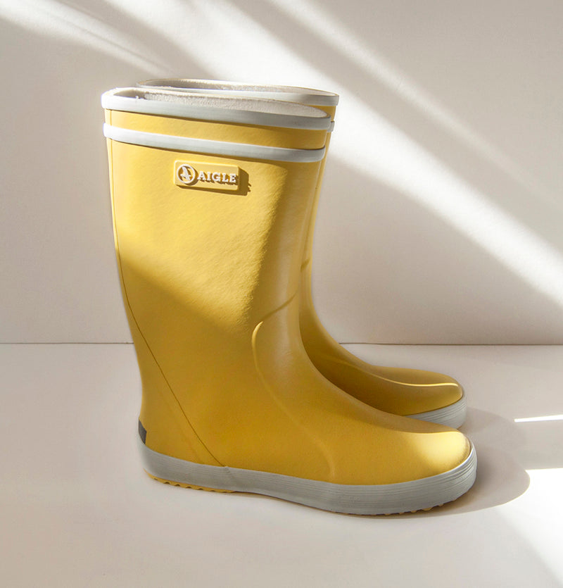 Aigle Lolly Pop, Natural Rubber Boots, Wellington Children's Footwear