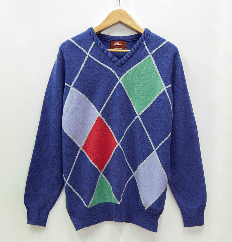 100% Wool Boyfriend Pullover - Treasure Box