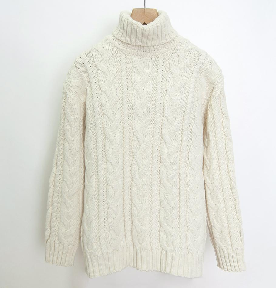 Wool Boyfriend Pullover 'SILVESTER' - Treasure Box
