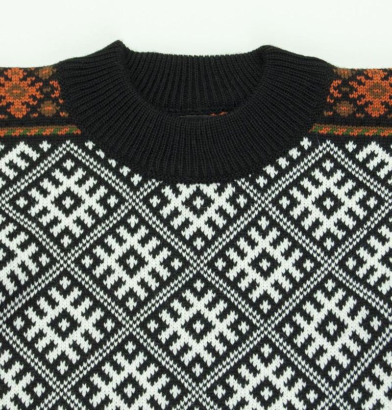100% Wool Boyfriend Pullover 'TILDA' - Treasure Box