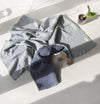 Copy of Crepe Blanket, 100% Cotton, double-sided, 90 x 120 cm 'LOVE YOU TO THE MOON'