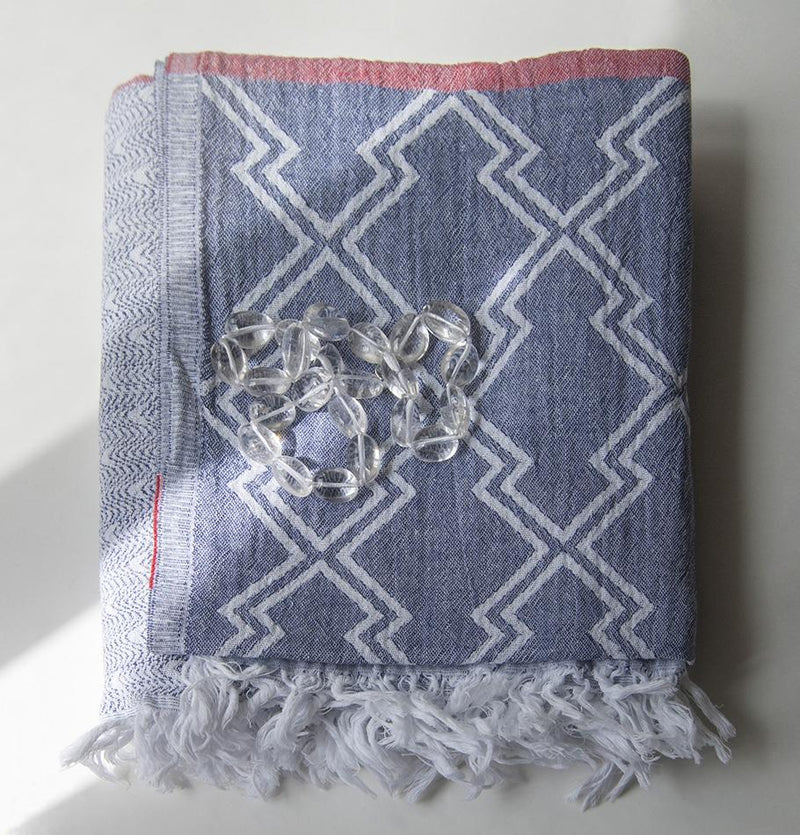 Peshtemal (premium turkish cotton blanket), 90 x 160 cm