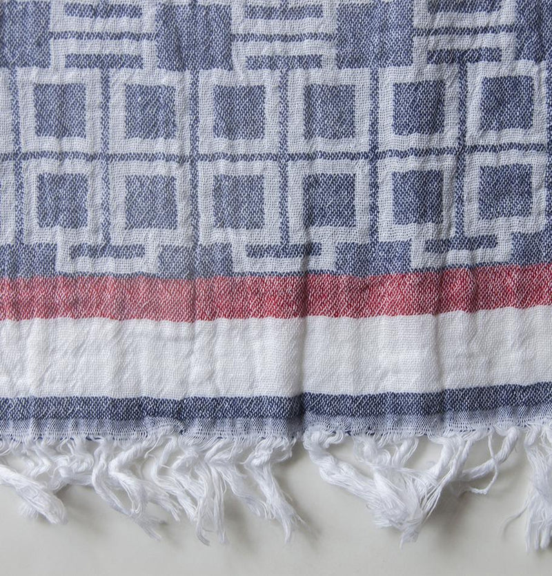 Peshtemal (premium turkish cotton blanket), 90 x 160 cm - Treasure Box