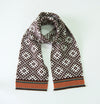 100% Wool Scarf double-sided 'TILDA' - Treasure Box