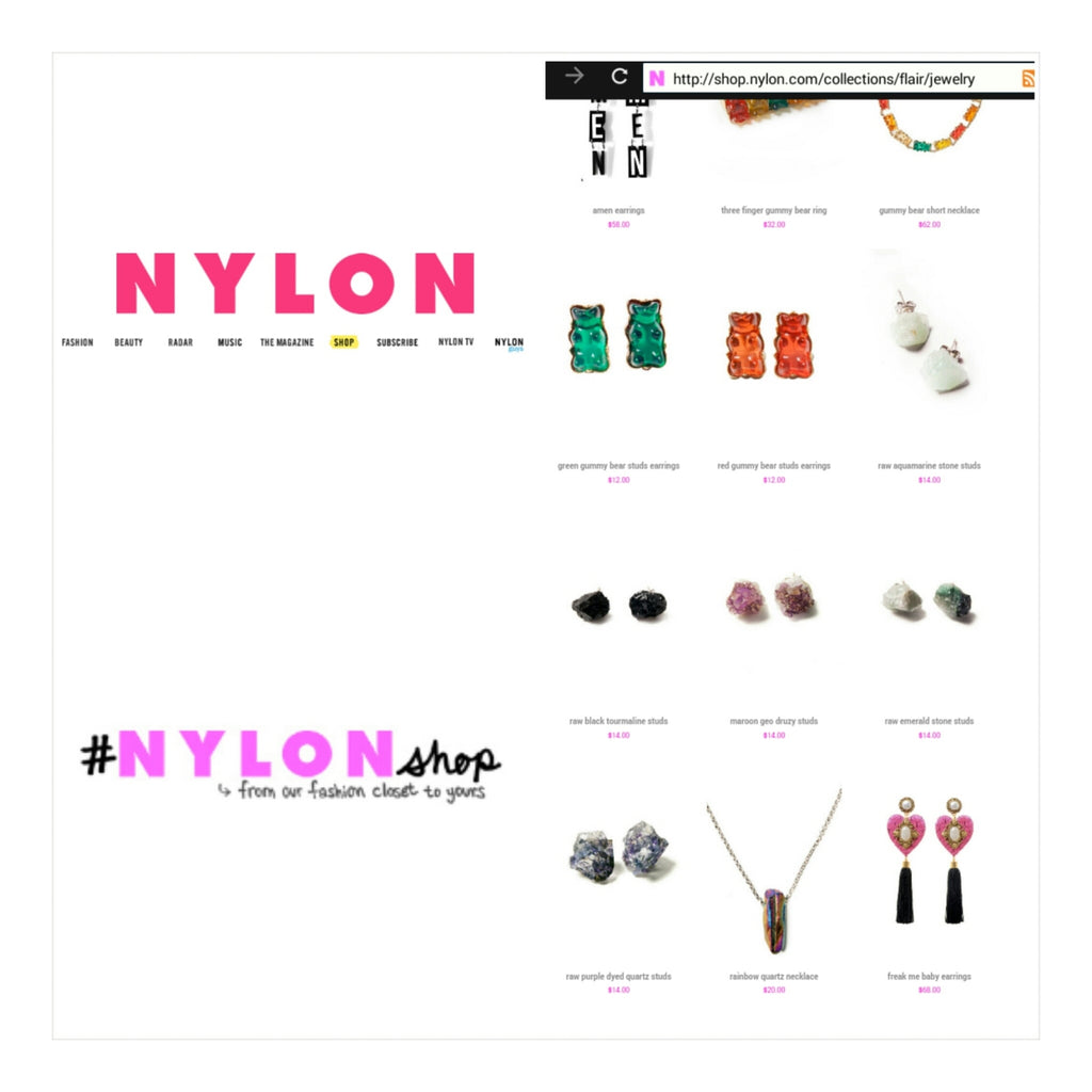 Nazari Jewelry (Sold on) NYLON Magazine