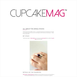 CupcakeMAG Article - Amythyst Ring