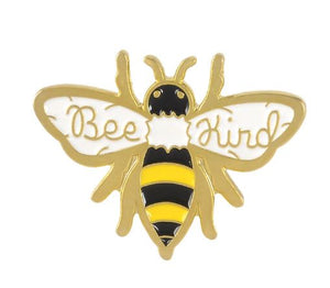 Bee Kind Bumble Bee Enamel Pin