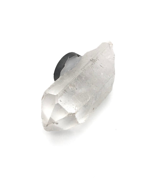 Raw Natural Quartz Crystal Magnet