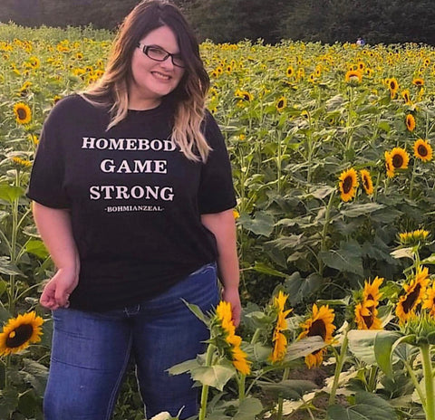 Homebody Game Strong T-shirt