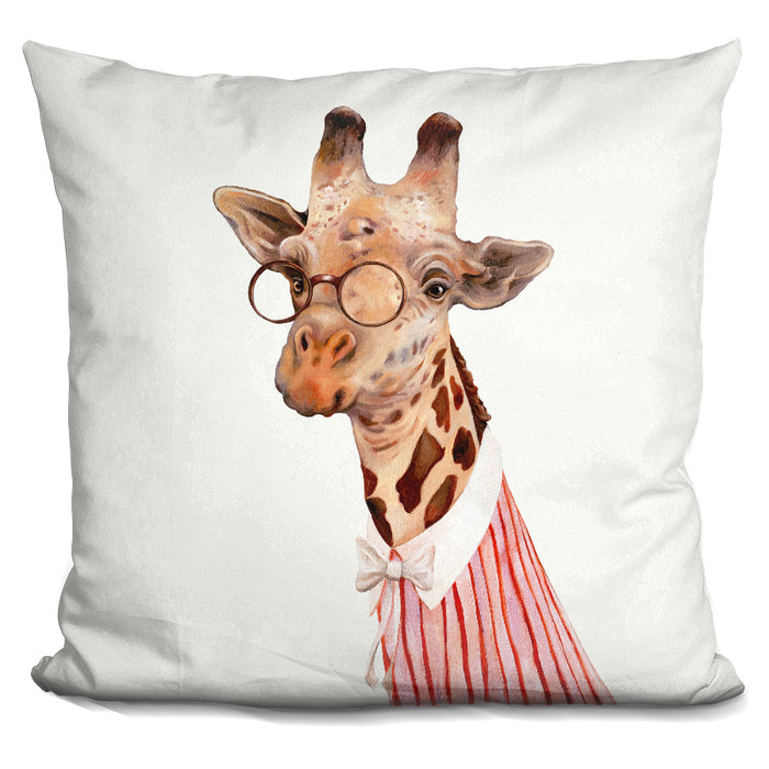 Mrs Giraffe Pillow