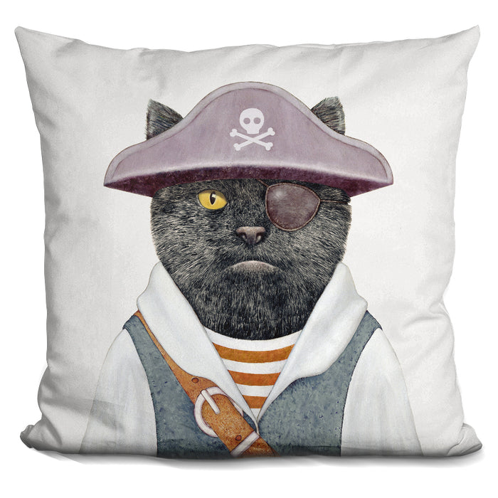 Pirate Cat Pillow