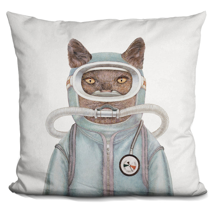 Scuba Cat Pillow