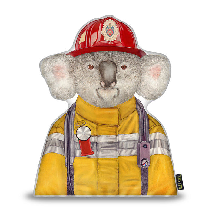 Koala Firefighter SH Pillow