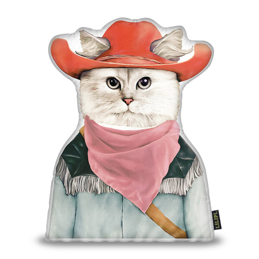 Rodeo Cat Pillow