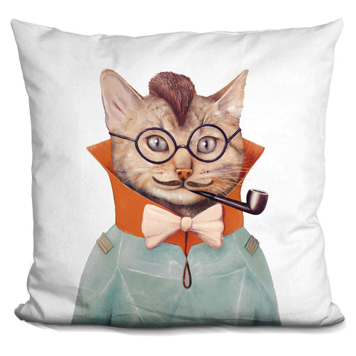 Eclectic Cat Pillow