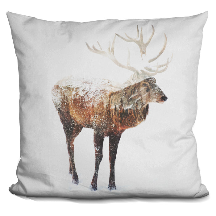 Arctic Deer Pillow